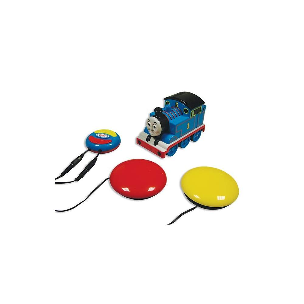 Tren Thomas por radiocontrol - Tren por radiocontrol con mando adaptado para dos pulsadores