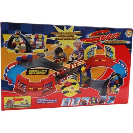Super Moto GP racing track adapted