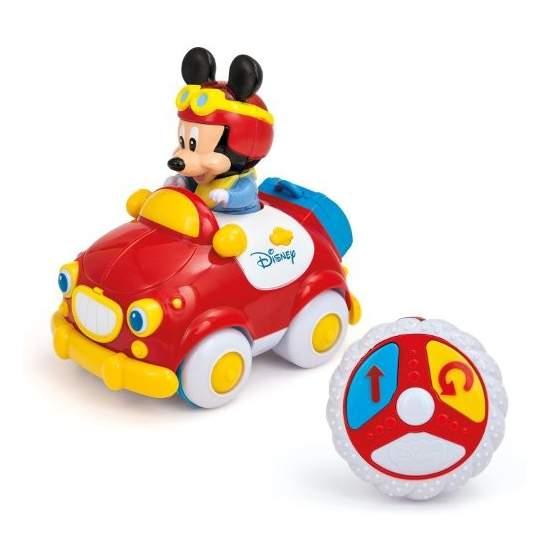 Coche teledirigido de Mickey - Sencillo mando de dos botones adaptado para conmutador