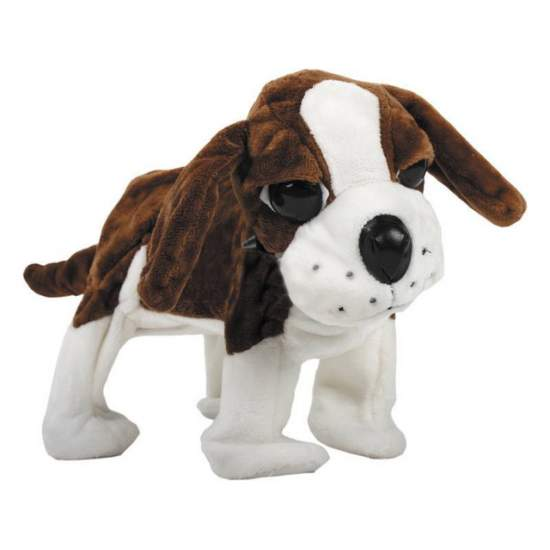 Big Dog adapted marchoso - Walks, barks and sounds music. Activated switch. It measures 39 cm