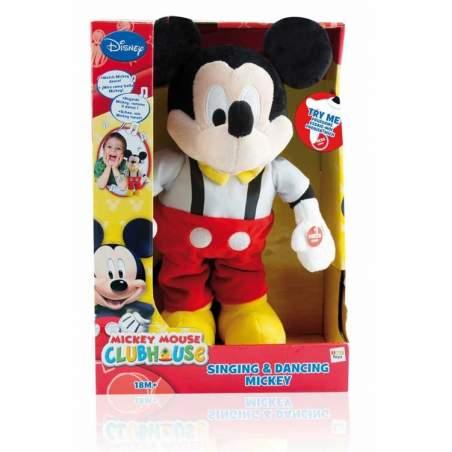 Mickey chante et danse adaptée