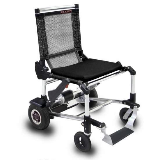 Silla Zinger - Silla de ruedas eléctrica Zinger color negro Una silla de ruedas eléctrica plegable y muy versátil