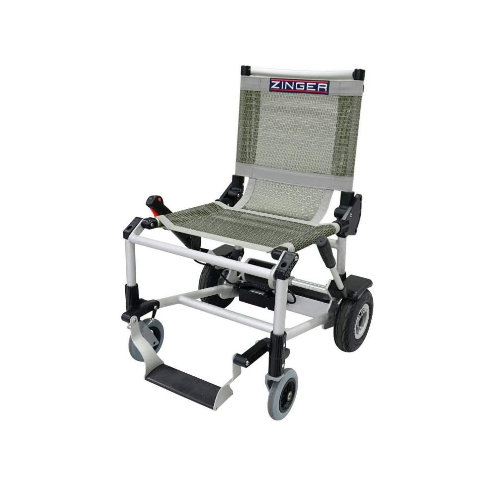 power chair Zinger - Electric wheelchair Zinger gray