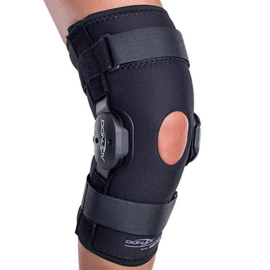 Drytex Deluxe Hinged Knee Knee -  indications  • average lateral instabilities.