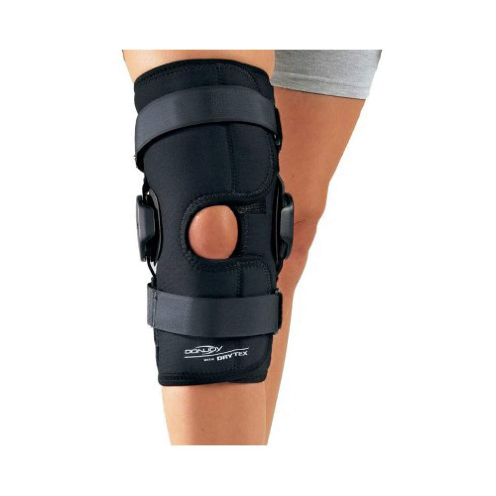 Drytex Deluxe Hinged Knee Knee Wrap open -  • Instability  • The particularly suitable open version, wrap,: very comfortable for adaptation in patients who are in an inflammatory process who may have great disproportion...
