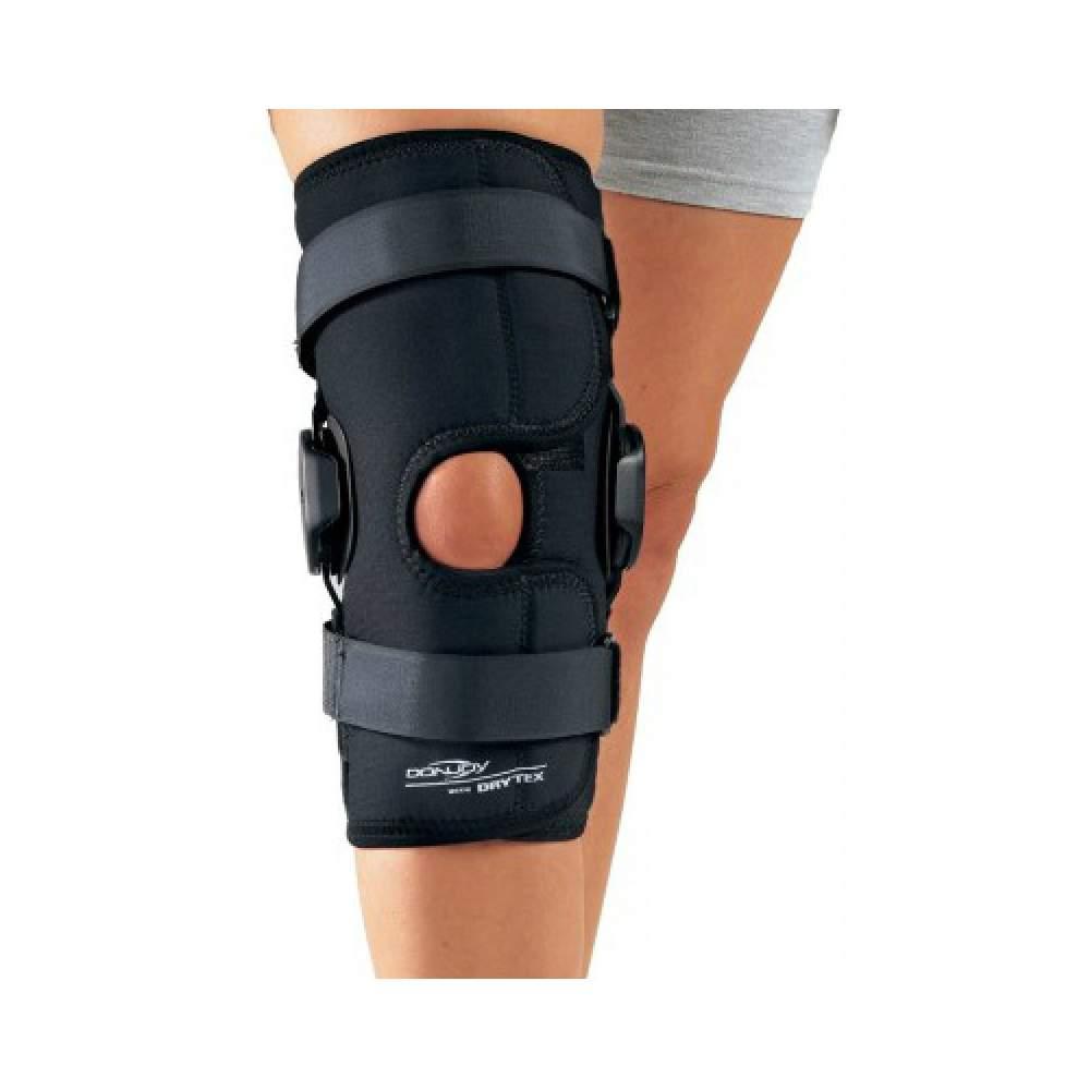 Knee Hinged Deluxe Knee Wrap Drytex ouverte