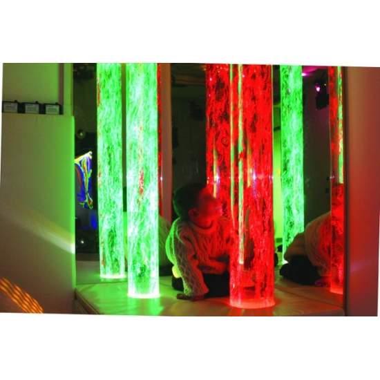 Tubo de burbujas pasivo - Tubo de burbujas con colores alternantes