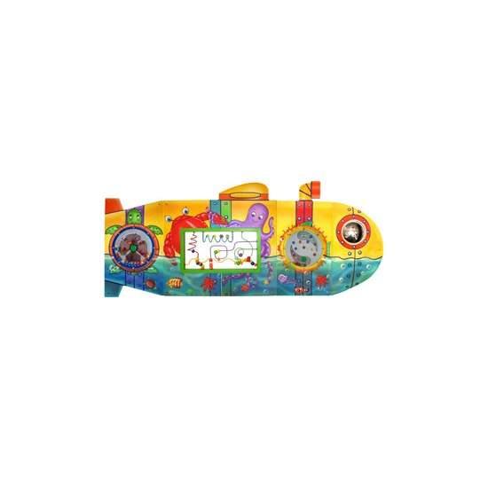 Panel táctil de actividades el submarino - Panel de 190 x 78 cm