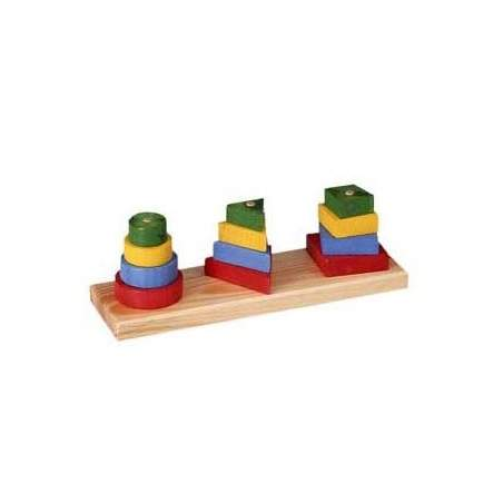 Stackable geometric figures 3