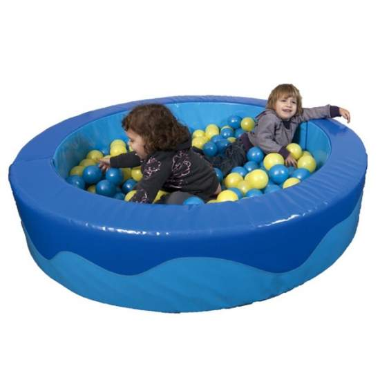 Round pool balls - Circular ball pool