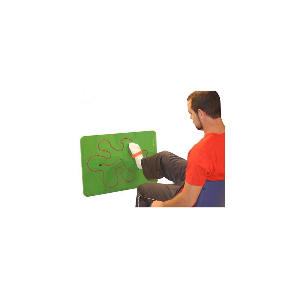 Laberinto mano-pie - Panel espiral de motricidad para trabajar de pie o sentado