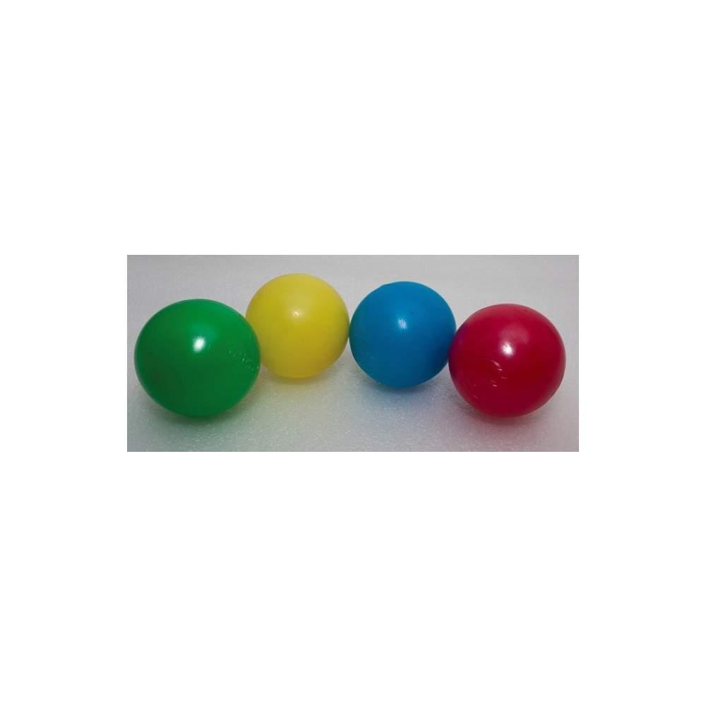 600 bolas de 7,5 centímetros