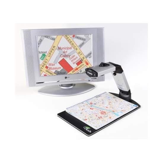 Prisma - Lupa asequible de alta calidad portátil y de sobremesa conectable a TV y PC