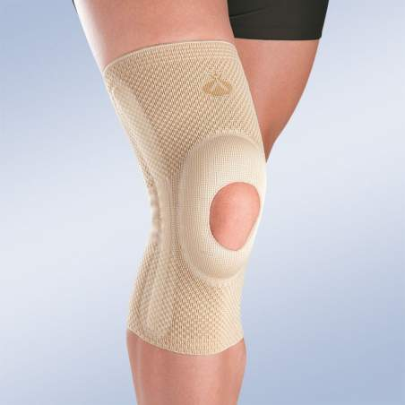 BREATHABLE apoio do joelho elástico com SILICONE CABEÇA impulsor aberto e estabilizadores SECUNDÁRIOS 9105