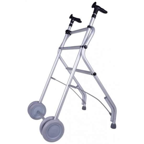 Aria walker per anziani Forta -  Alluminio Walker anatomica, regolabile e pieghevole Forta Air