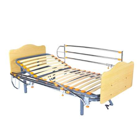 Geria Hus bed manually articulated 3 Planes, adjustable legs