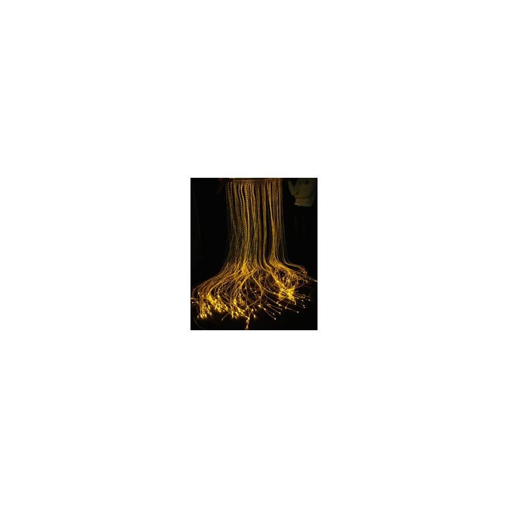 passive fiber optic curtain -