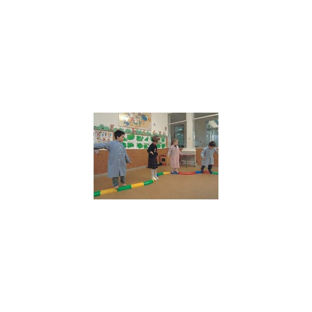 straight semicircular hall -