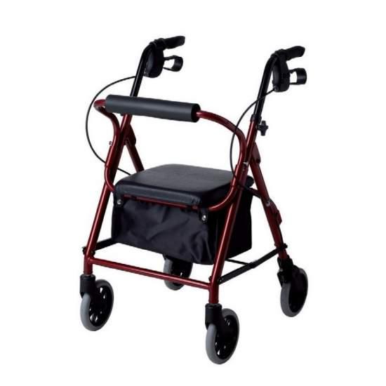Low walker narrow AD185 - Low Rolator narrow walker AD185
