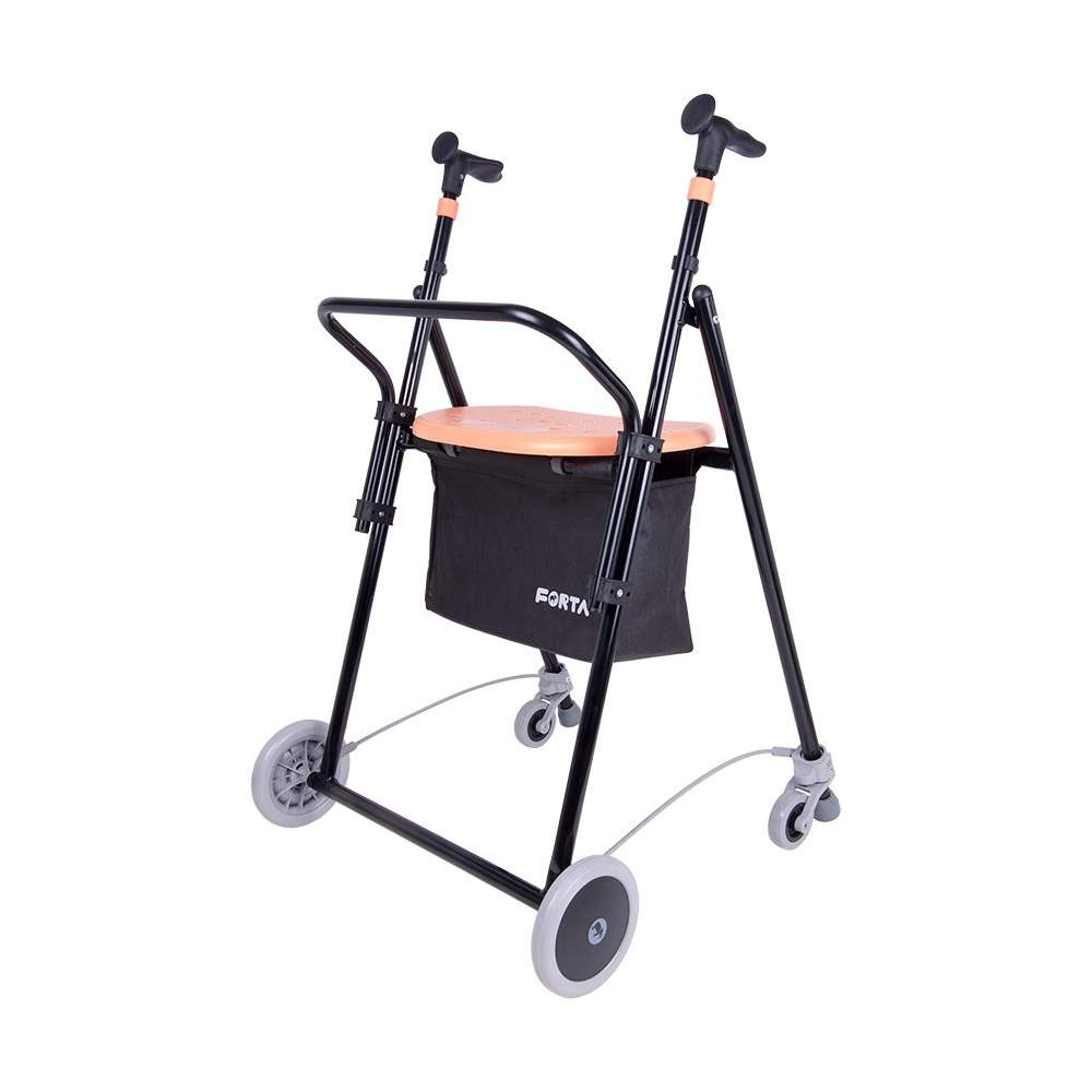 On Andador Iron Air Plus -  Iron walker for the elderly AIR-ON Plus. The walker AIR-On Plus is the most complete range of iron Forta walkers.