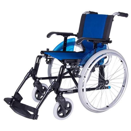 Wheelchair Forta Line -  The wheelchair is a chair FORTA LINE crosshead, manual and light made ​​of aluminum without welds.