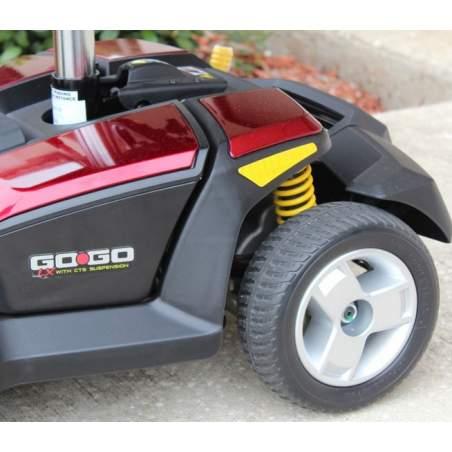 GOGO-LX di scooter 4 ruote e sospensioni