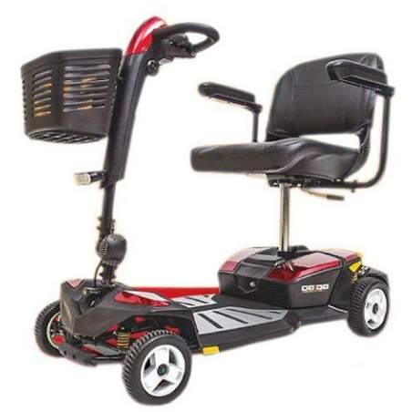 GOGO-LX Scooter 4 rodas e suspensão