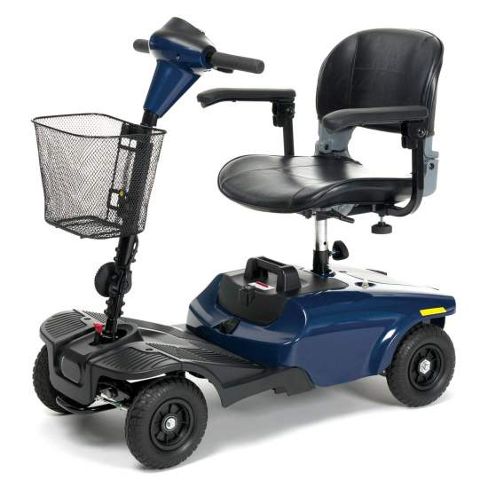 Scooter de 4 ruedas Antares - Scooter eléctrico de 4 ruedas ideal para interiores y exteriores..