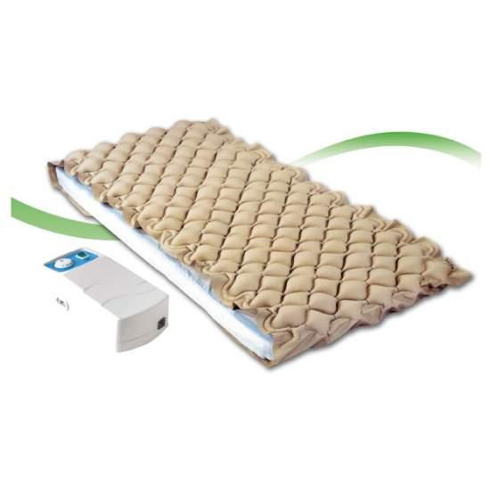 Colchon antiescaras - El colchón antiescaras de aire de Dromos destaca por ser uno de los más silenciosos del mercado, lo que facilita enormemente el descanso del usuario. Su motor de aluminio es duradero y no requiere de reparaciones continuas. El colchón...