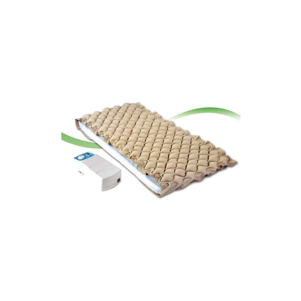 Colchon antiescaras - El colchón antiescaras de aire de Dromos destaca por ser uno de los más silenciosos del mercado, lo que facilita enormemente el descanso del usuario. Su motor de aluminio es...