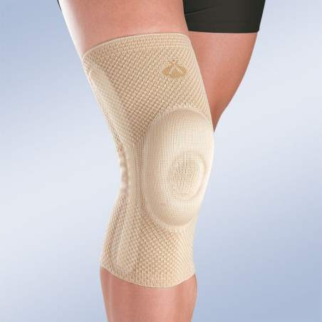 Knee patella closed with lateral stabilizers