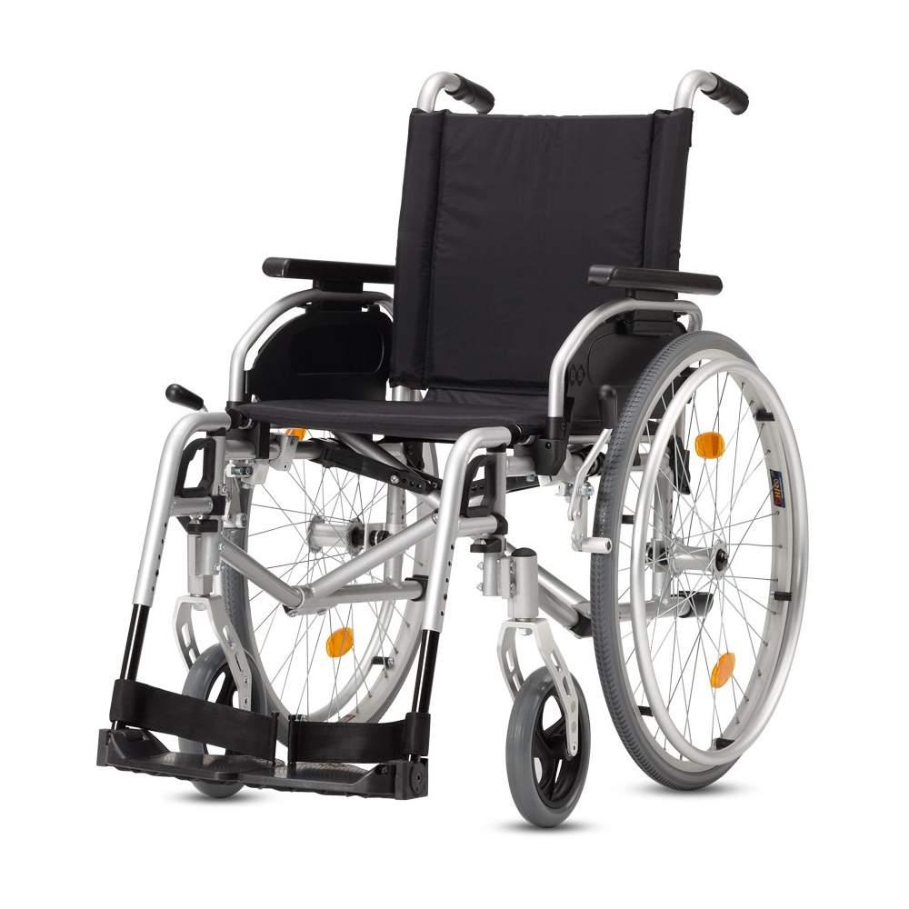 Silla de ruedas ligera y plegable de aluminio for Sillas de aluminio
