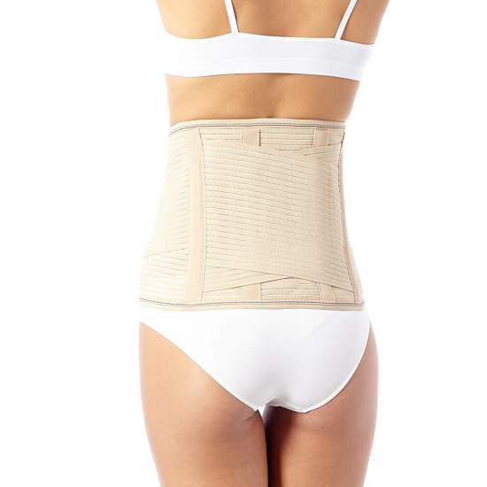 Faja Lumbosacra - Faja lumbosacra soporte lumbar básico de 25 cms / 32 cms que incluye panel extraíble para proporcionar mayor protección y calor en la zona lumbar.
