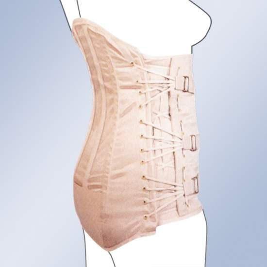 GAZA lombossacral Semirrigida Alta Senhora lingerie 2000-S