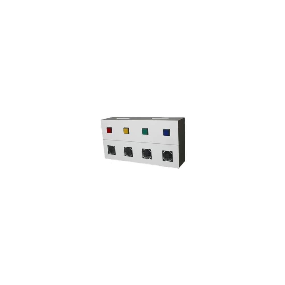Panel de aromas DST - Difusor controlado por pulsadorres y por las causas del sistema DST