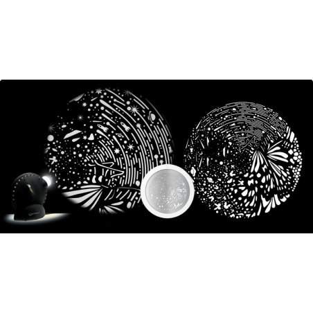 disco grafico per Space proiettore