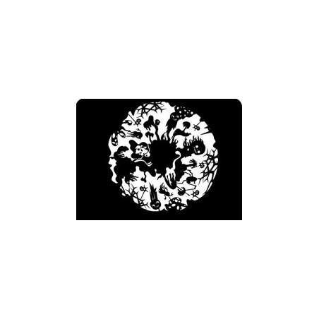 disco gráfico para Projector Espaço