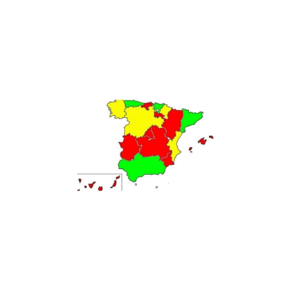 SEMAFORO ROJO EN 9 CCAA POR LA REFORMA SANITARIA - Red traffic light in 9 CCAA for health reform
