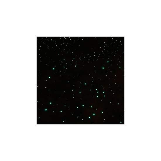 Alfombra de fibra óptica (por m2) - Tapiz de brillantes puntos de luz que cambian de color