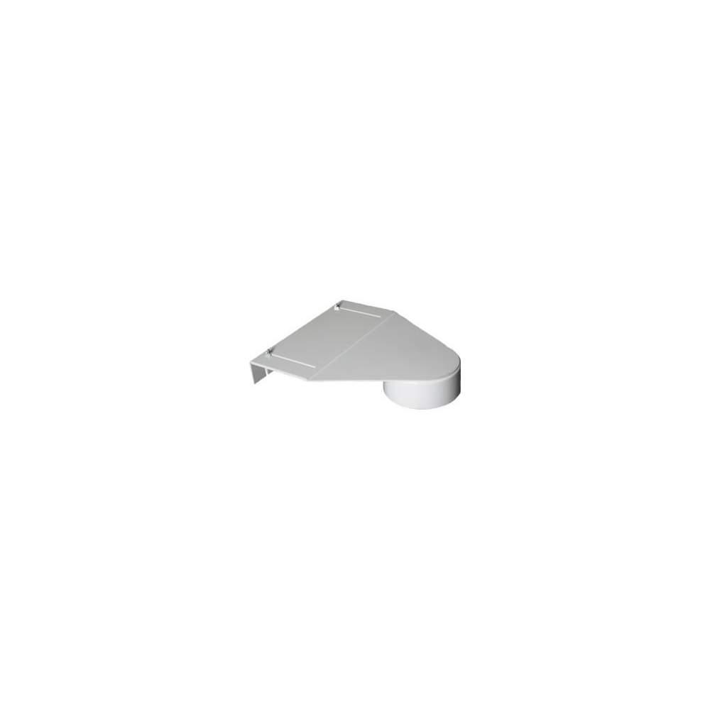 Abrazadera para tubo de burbujas - Asegura la parte superior del tubo de burbujas a una pared, estante o estructura