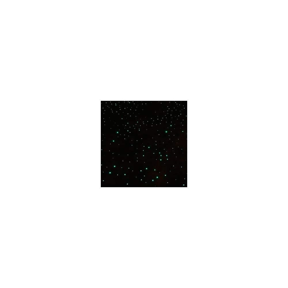Alfombra de fibra óptica 2x1 m - Tapiz de brillantes puntos de luz que cambian de color
