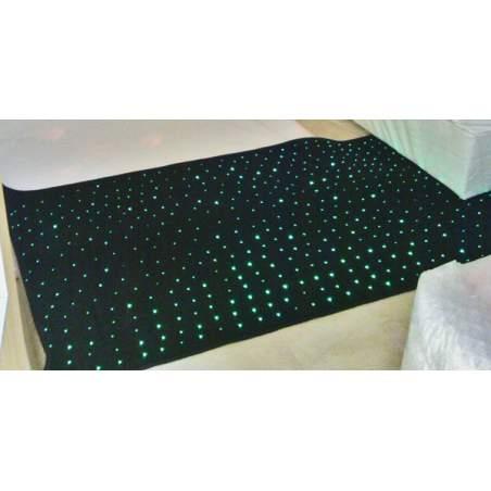 Optical fiber mat 2x1 m