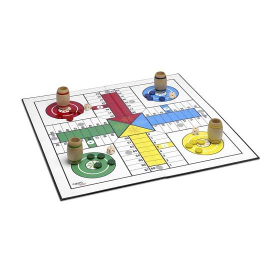 Parcheesi XXL - The popular board game but supersized