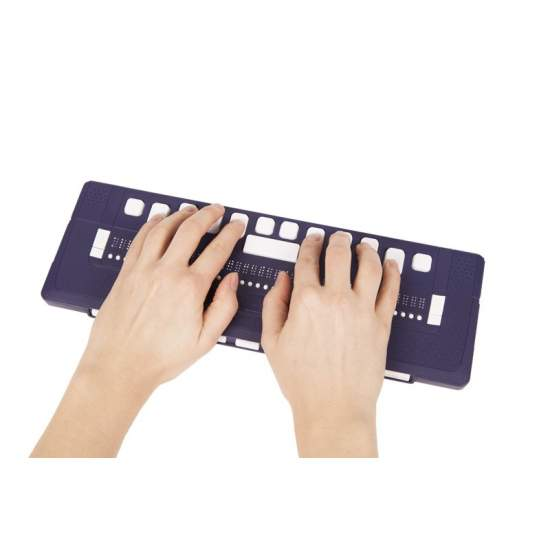 ALVA 640 Comfort - Braille reader and Bluetooth keyboard