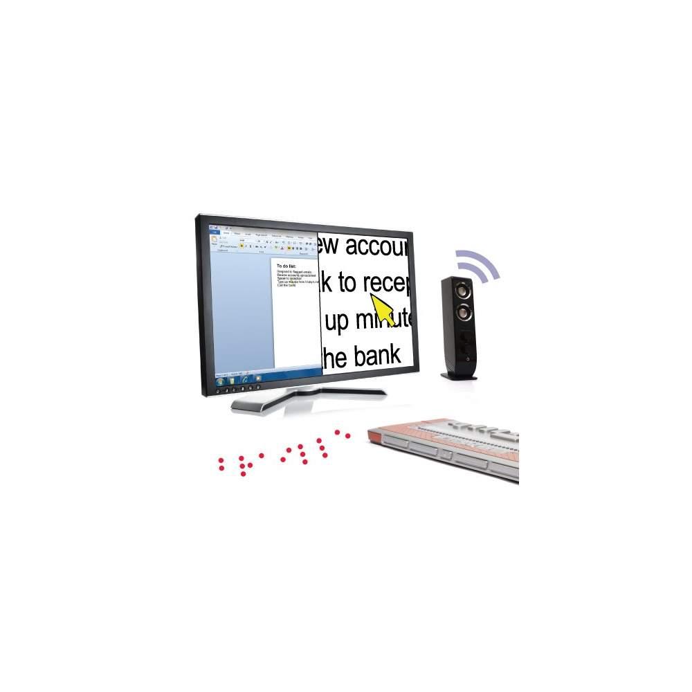 SuperNova screen reader and magnifier