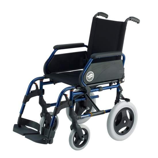 Breezy 250 - autopropulsable sedia a rotelle, non pieghevole in acciaio