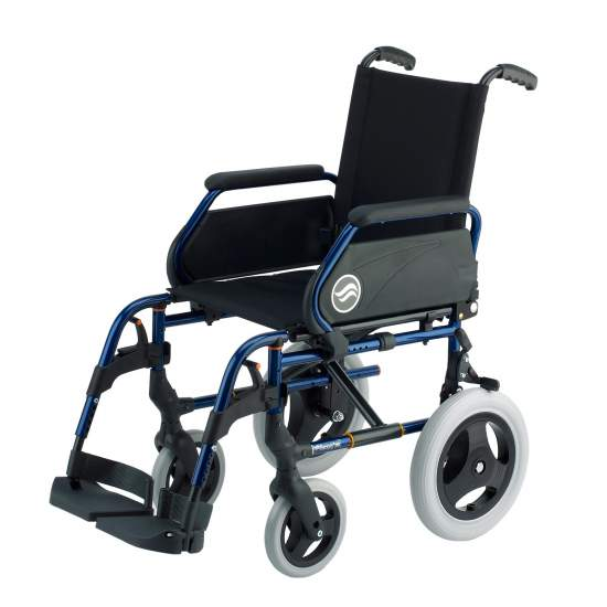 Breezy 250 - Wheelchair autopropulsable not folding steel - Folding wheelchair Breezy 250  The wheelchair steel with more models and options. And with the best service