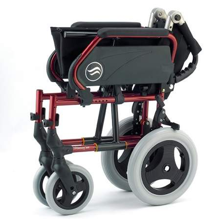 Breezy 250 - Folding steel wheelchair not self-propelling