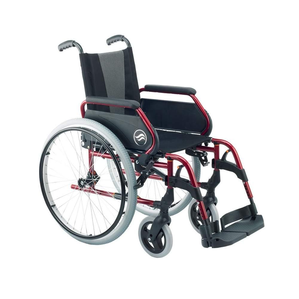 Breezy 250 pieghevole in acciaio per sedia a rotelle for Sedia a rotelle kuschall