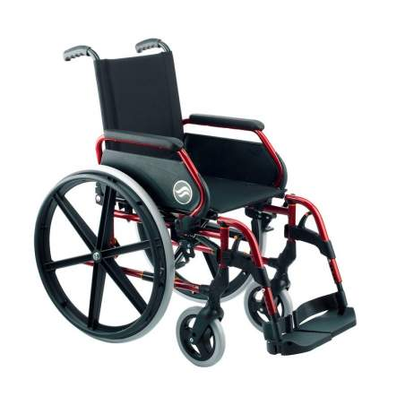 Breezy 250 - Silla de ruedas de acero plegable